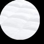 fiber mattress topper